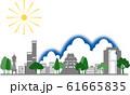 大阪シルエット カラー 夏 61665835