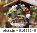 小鳥のリース 61695246