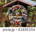 小鳥のリース 61695254