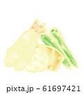 海老とオクラとレンコンとかぼちゃの天ぷら盛り合わせ 61697421