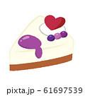 レアチーズケーキ 61697539