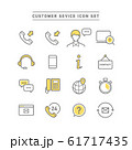 CUSTOMER SEVICE ICON SET 61717435