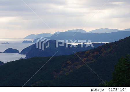 荷坂峠から熊野灘を望む 61724144