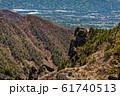 浅間山外輪山・黒斑山から見るトーミの頭 61740513
