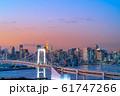 はちたまから見るレインボーブリッジのマジックアワー 【東京都】 61747266