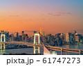 はちたまから見るレインボーブリッジのマジックアワー 【東京都】 61747273