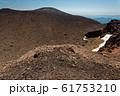 前掛山から見る噴煙上がる浅間山 61753210