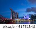 シンガポール マリーナ・ベイ・サンズ 夜景 61761348