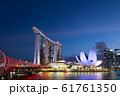シンガポール マリーナ・ベイ・サンズ 夜景 61761350
