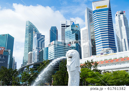 マーライオン シンガポール 61761382
