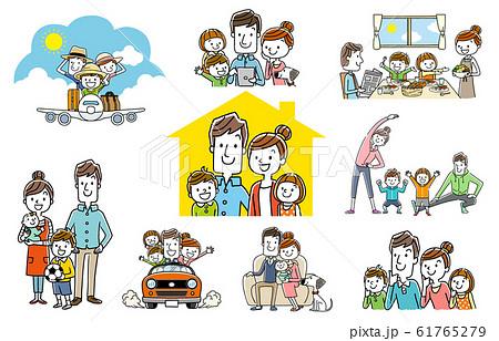 人物セット:楽しい家族、コレクション 61765279