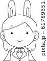 コスプレイヤー アニメキャラ オタク 漫画 かわいい 表情 ポーズ 喜怒哀楽 61789651