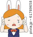 コスプレイヤー アニメキャラ オタク 漫画 かわいい 表情 ポーズ 喜怒哀楽 61789658