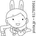 コスプレイヤー アニメキャラ オタク 漫画 かわいい 表情 ポーズ 喜怒哀楽 61789661