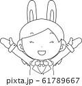 コスプレイヤー アニメキャラ オタク 漫画 かわいい 表情 ポーズ 喜怒哀楽 61789667
