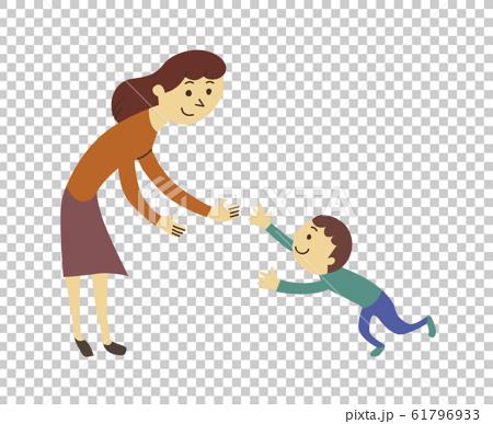 媽媽和一個男孩 61796933