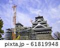 今こそ見に行く価値がある熊本城 (2020年1月3日撮影) 61819948