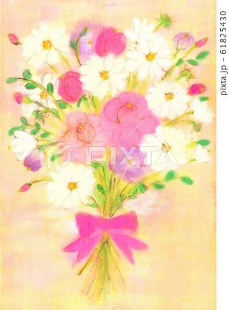 マーガレットとバラの花束 2 61825430