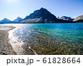 秋のカナディアンロッキー ボウ・レイク(バンフ国立公園 カナダ・アルバータ州) 61828664