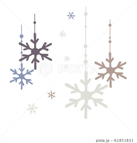 雪の結晶のイメージ 61851831