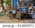ground drilling water machine on old truck 61860971