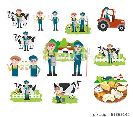牧場 酪農 セット 61862146