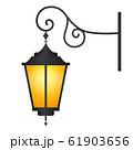 おしゃれな門灯のイラスト 61903656