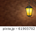 おしゃれな門灯の背景イラスト_シンプル 61903702