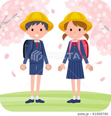 Spring event_cherry blossoms kids 61906780