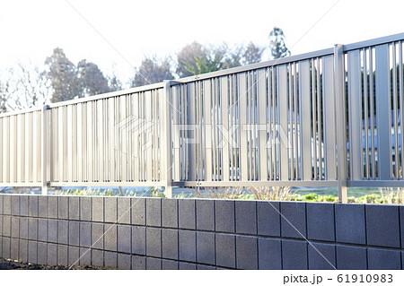 塀の工事 塀の設置 61910983
