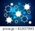 コロナウイルスイラスト 61937993
