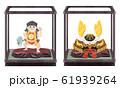 子供の日に飾る兜と金太郎 61939264