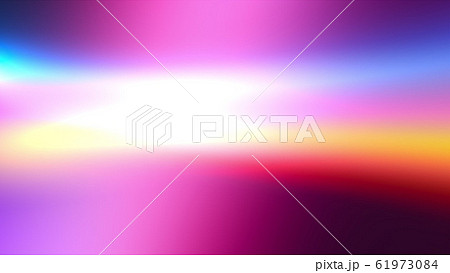 Background with multicolored tints. 3d rendering of colorful radiance, computer generated 61973084