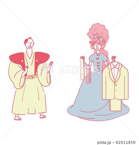 選ぶ侍とコーディネートするお姫様 62011850