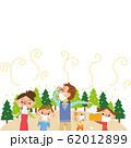 花粉で苦しんでいる家族 62012899
