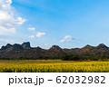 sunflower at Kao Jeen Lae mountain in Lopburi, 62032982