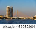 Somdet Phra Pinklao Bridge over Chao Phraya River 62032984