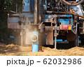 ground drilling water machine on old truck 62032986