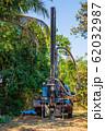 ground drilling water machine on old truck 62032987
