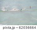 ワイキキビーチ マリンスポーツ perming  写真素材 62036664