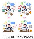 flat type Arab women White Sportswear_mulch task 62049825