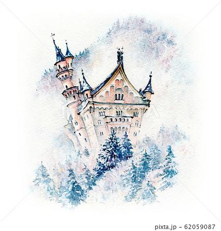 Fairytale Neuschwanstein Castle, Bavaria, Germany 62059087