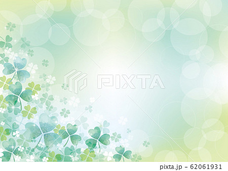 シロツメクサ:シロツメクサ 春 春の花 草原 自然 花 4月 群生 晴天 青空 満開 62061931