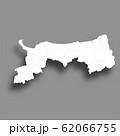 鳥取 地図 シルエット アイコン 62066755