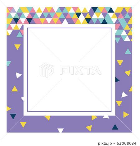 フレーム 正方形 バナー 62068034