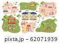 Playground, Kids in Kindergarten, Parking Space 62071939