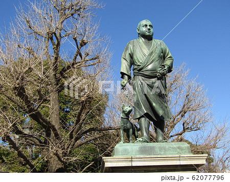 上野公園の西郷隆盛の銅像 62077796