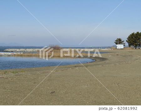 天王崎の砂浜 62081992