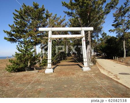 天王崎八坂神社の鳥居 62082538