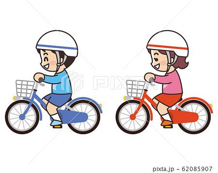 自転車に乗っている子供 サイクリング 62085907